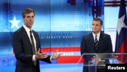 Kongresmen Beto O Rurk i senator Ted Kruz u TV debati uoči kongresnih izbora.