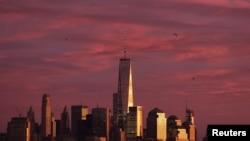 One World Trade Center di Manhattan, New York. (Foto: dok.)