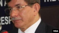 Türkiyənin xarici işlər naziri Əhməd Davutoğlu