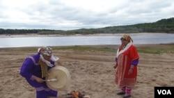 西伯利亚原住民汉特人