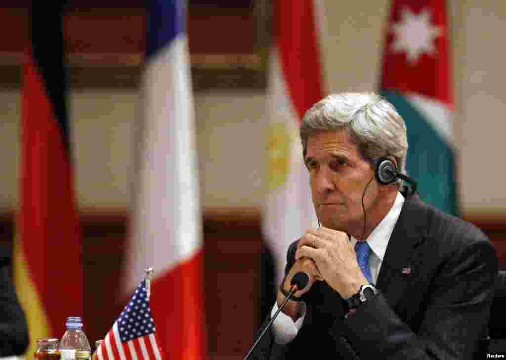 ԱՄՆ-ի արտգործնախարար Ջոն Քերիի այցը Մերձավոր Արևելք