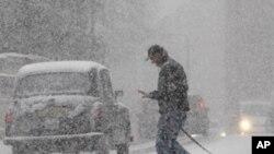 Χιόνι στο Λονδίνο