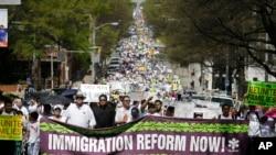 Se esperan grandes manifestaciones en varios estados en apoyo de la reforma migratoria, uno de los temas más debatidos en la actualidad.