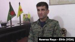 fermandarê (YPG) Birûsk Hesekê - Efrîn