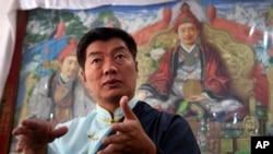 西藏流亡政府总理洛桑森格(资料照片)