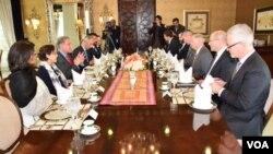 دیدار سناتور گراهام از مقامات پاکستانی در اسلامآباد