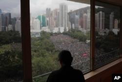 протест у Гонконгу