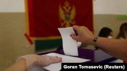 Glasanje na parlamentarnim izborima u Crnoj Gori