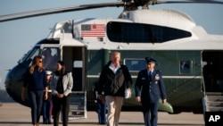 Trump parte para Porto Rico