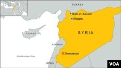 터키 남부 국경과 인접한 시리아 북부 밥알살람 지역.