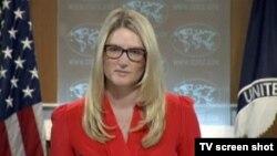 Phát ngôn viên Bộ Ngoại giao Mỹ Marie Harf.