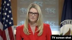 ABD Dışişleri Bakanlığı sözcü yardımcısı Marie Harf