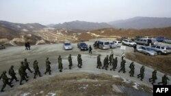 Vojna vežba južnokorejske vojske, 23. decembar 2010.