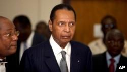 FILE - Former Haitian dictator Jean-Claude Duvalier.