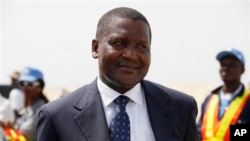 Aliko Dangote is said to be Africa's richest man.