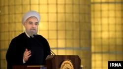 حسن روحانی رئیس جمهوری ایران - ۱۴ ژوئیه ۲۰۱۵