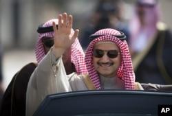 FILE - Prince Alwaleed bin Talal