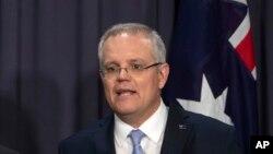 澳大利亞總理莫里森。