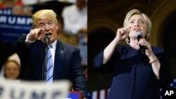 دونالد ترامپ و هیلاری کلینتون تلاش های خود برای جذب حداکثری آرای مردم را تشدید کرده اند.