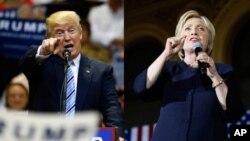 Ứng cử viên tổng thống của Đảng Cộng Hòa ông Donald Trump và ứng viên của Đảng Dân Chủ bà Hillary Clinton đều nhận những lời chỉ trích từ những người kiểm tra thông tin.