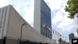 미국 뉴욕의 유엔 본부.