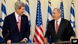Джонн Керри и Биньямин Нетаньяху