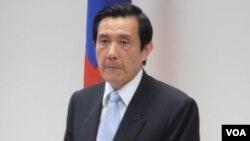 台湾总统马英九 (美国之音资料照片)