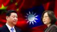 中国国家主席习近平和台湾总统蔡英文