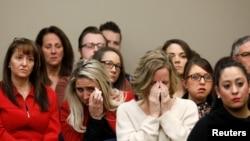 Жертвы Ларри Нассара в зале суда