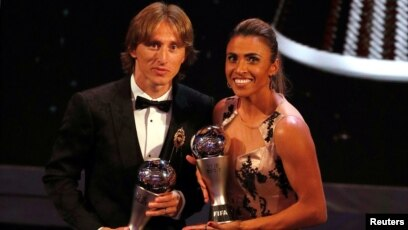 d1dbc6a71 Modric Wins World Player of Year