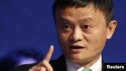 Tỷ phú Jack Ma, ông chủ tập đoàn Alibaba của Trung Quốc.
