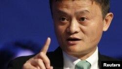 Doanh nhân Jack Ma.