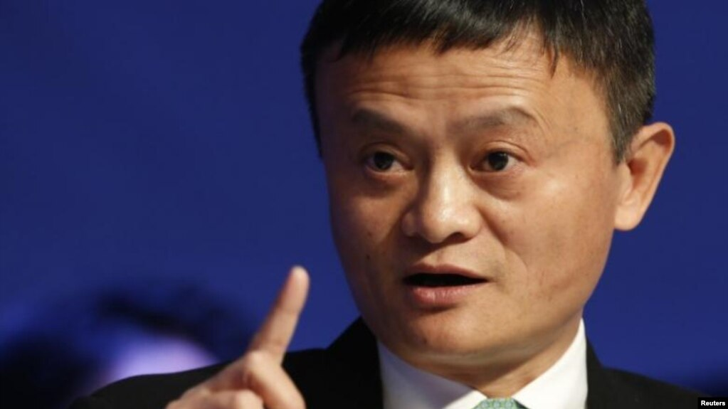 Ông chủ Alibaba, Jack Ma.