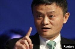 중국 최대 온라인 상점 '알리바바'의 마윈 회장.
