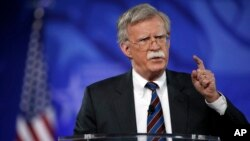FILE - Former U.S. Ambassador to the UN John Bolton