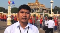 Sihanouk's Golden Urn Returned to Royal Palace