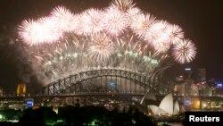 Зустріч Нового року в Сіднеї