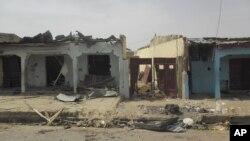Damaturu, après une explosion