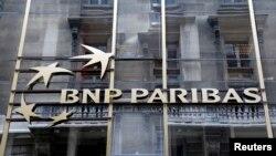 프랑스 파리의 BNP 파리바 은행 건물 (자료사진)