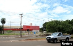 A former Wal-Mart Store is pictured in Campo Grande, Brazil, Jan. 27, 2016. Brazil's slumping economy has forced the U.S. retailer to shutter 60 locations across the country.