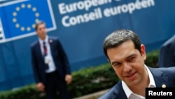 L'Eurogroupe refuse de prolonger le plan d'aide à la Grèce, comme le souhaite le Premier ministre Alexis Tsipras (Reuters)