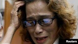 后藤健二在知道兒子被斬首後接受記者訪問