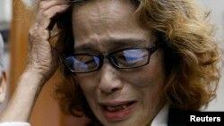 """Ibu Kenji Goto, Junko Ishido berharap kematian putranya """"akan memberi sumbangsih pada dunia"""" (foto: dok)."""