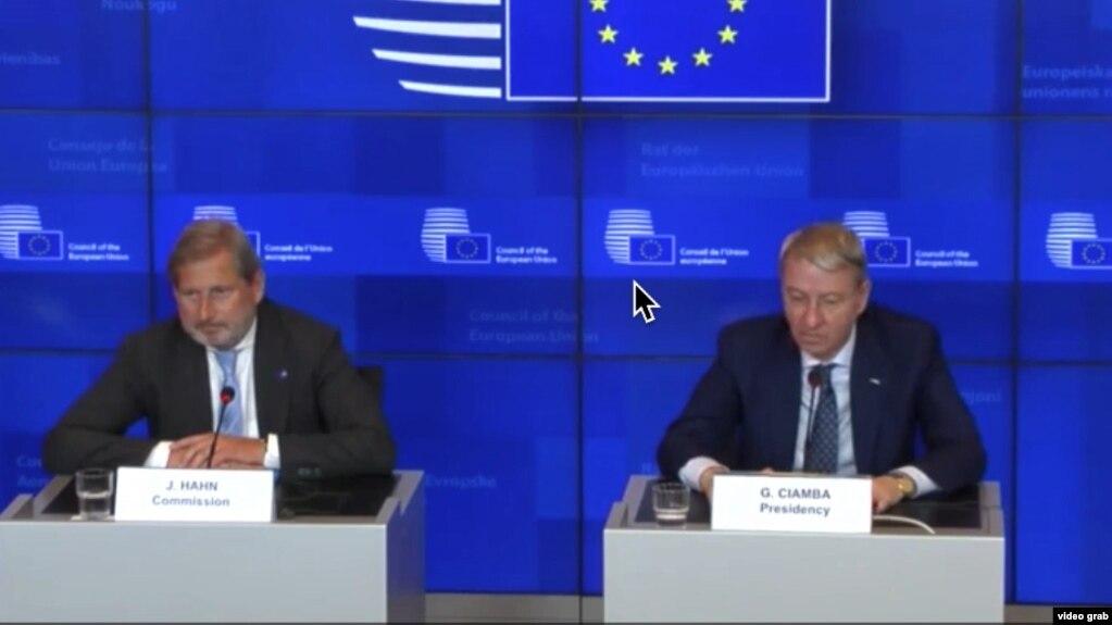 Hapja e bisedimeve me BE, vendimi për Tiranën e Shkupin në tetor