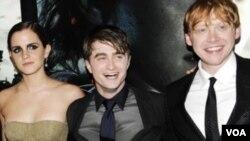 Glavni glumci u serijalu filmova o Harriju Potteru su odrasli kroz te filmove
