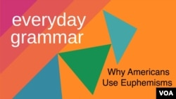 Everyday Grammar: Why Americans Use Euphemisms