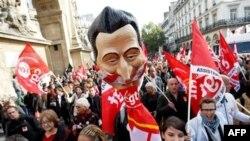 Ֆրանսիայում արհմիությունները բողոքի նոր ցույցեր են սկսել կենսաթոշակա-<br>յին բարեփոխումների դեմ