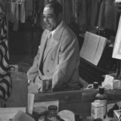 Duke Ellington often played the Paramount Theater in New York City