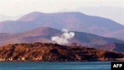 Հրետանային կրակ Կորեական թերակղզում