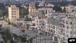 درگیری های سنگین و گلوله باران در شهر حمص در روز پنجشنبه